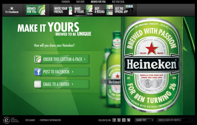 HEINEKEN SOCIAL CLUB - GIVE YOURSELF A GOOD NAME