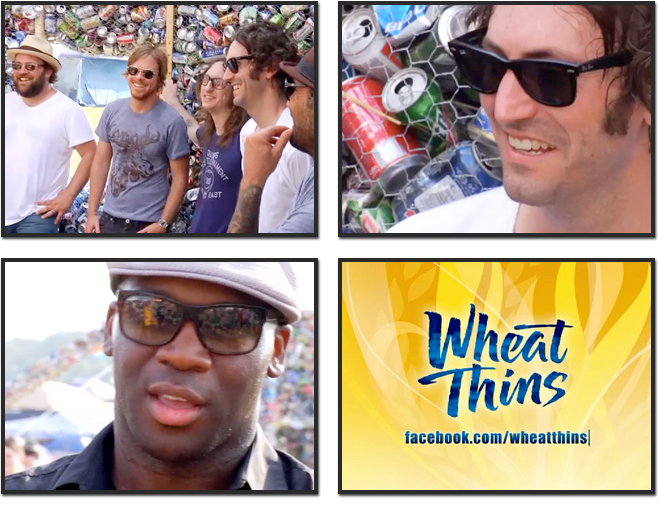 WHEAT THINS / BONNAROO
